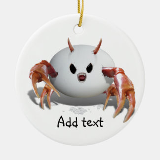 Crabby Egg Ornaments