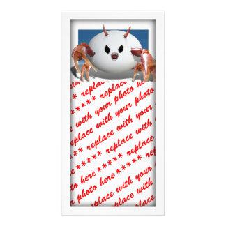 Crabby Egg Customized Photo Card