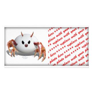 Crabby Egg Photo Card Template