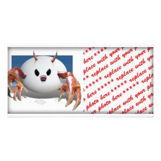 Crabby Egg Photo Card