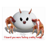 Crabby Egg Post Cards