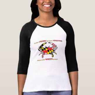 CRABBY girl from MARYLAND T-Shirt