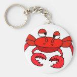 Crabby Keychain