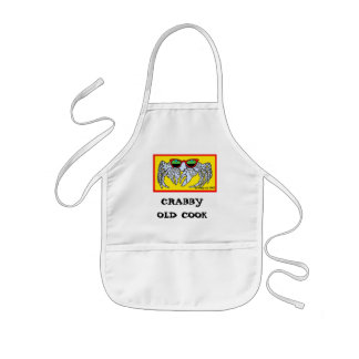 CRABBY OLD COOK KIDS APRON