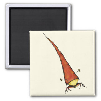 crabby square magnet