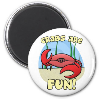 Crabs are Fun Magnet