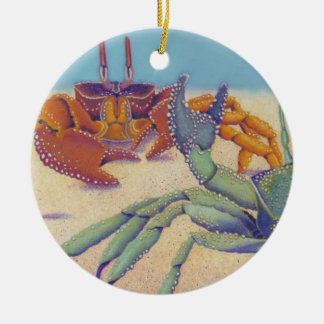 Crabs Christmas Ornament