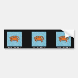 Crabs (Maryland, Gulf and East Coast).jpg Bumper Sticker