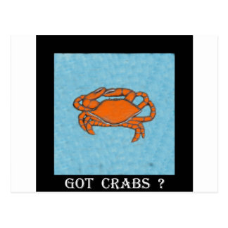 Crabs (Maryland, Gulf and East Coast).jpg Postcard