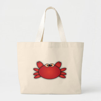Crabs One Large Tote Bag