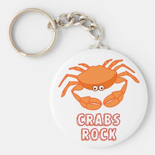 Crabs Rock Key Ring
