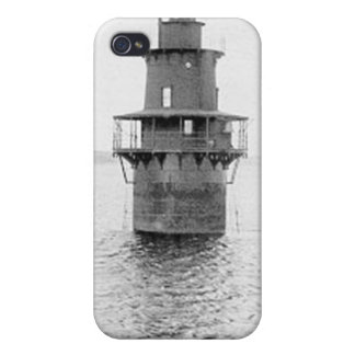 Crabtree Ledge Lighthouse iPhone 4 Cover
