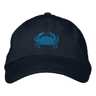 Craby Crab Embroidered Hats