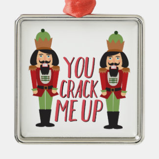 Crack Me Up Christmas Ornament