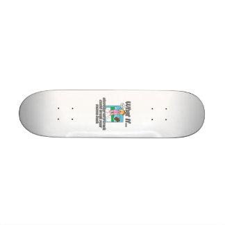 Crack stepper skate deck