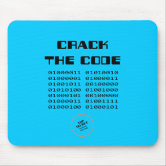 Crack the Code Mouse Mat