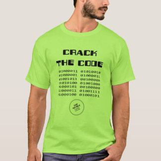 Crack the Code t-shirt