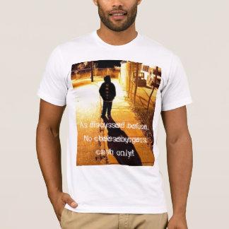 CrackDumb - No Cheeseburgers T-Shirt