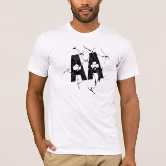 Cracked Aces (Blk) T-Shirt