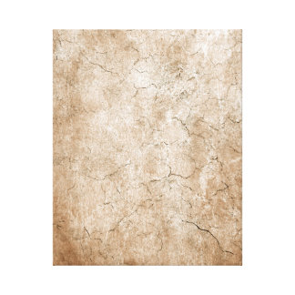 Cracked Aged and Rough Brown Vintage Texture Canvas Prints