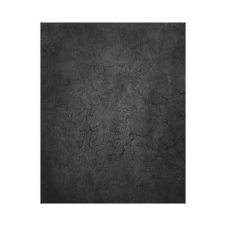 Cracked Aged and Rough Dark Vintage Texture Stretched Canvas Print