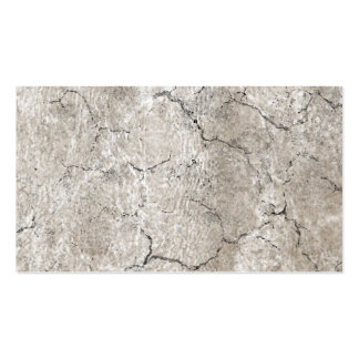 Cracked Aged and Rough Gray Vintage Texture Business Card Template