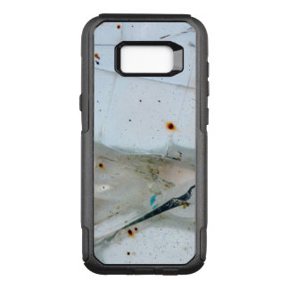 Cracked Broken and Rusty Thick Glass OtterBox Commuter Samsung Galaxy S8+ Case