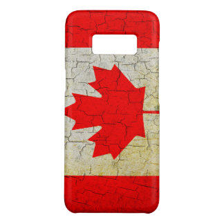 Cracked Canada flag Case-Mate Samsung Galaxy S8 Case