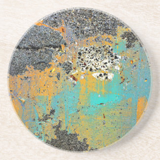 Cracked Concrete Series Coaster