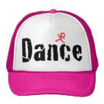 Cracked Dance Design Hats