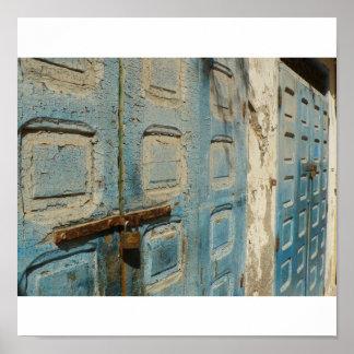 cracked doors poster