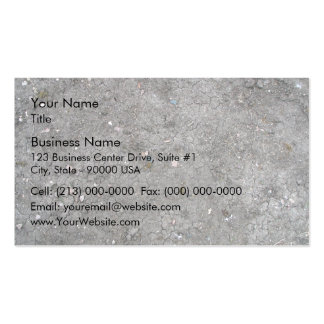 Cracked Dry Ground Texture Business Card Template