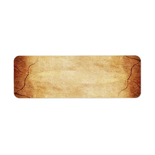 CRACKED EARTH CLAY TEXTURES ABSTRACT RANDOM TEMPLA RETURN ADDRESS LABEL