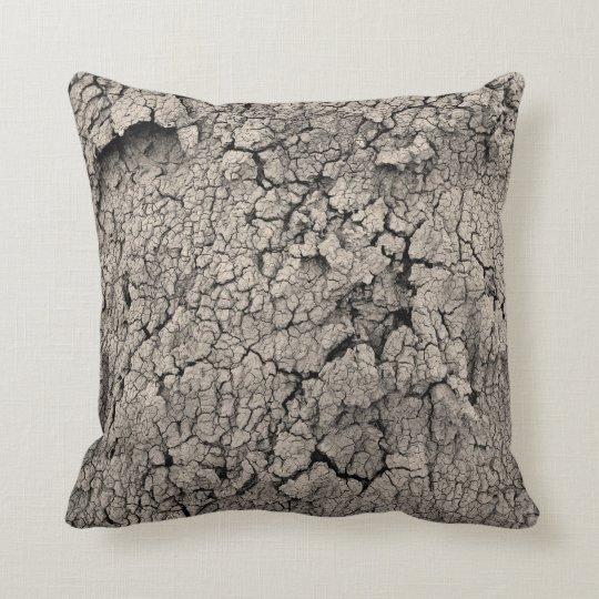Cracked Earth Cool Dirt Texture Cushion