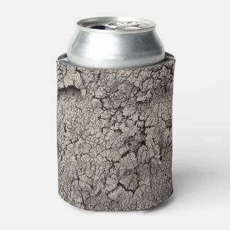 Cracked Earth Funny Cool Texture Can Cooler