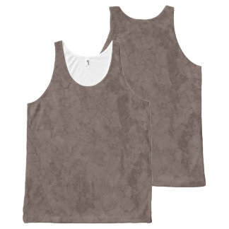 CRACKED EARTH NATURAL Slipperywindow All-Over Print Tank Top