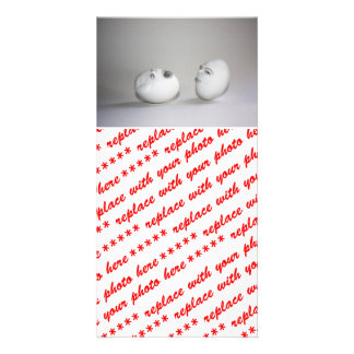Cracked Egg and a Wink Photo Greeting Card