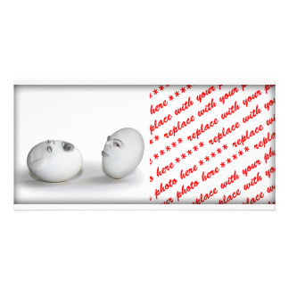 Cracked Egg and a Wink Photo Cards