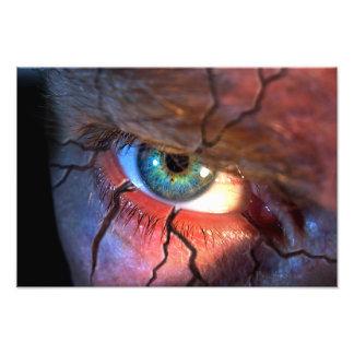 Cracked Eye Photo