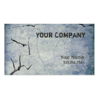 Cracked ii business card template