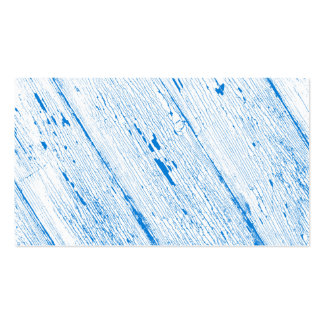 Cracked Paint Pattern Blue And White Pack Of Standard Business Cards