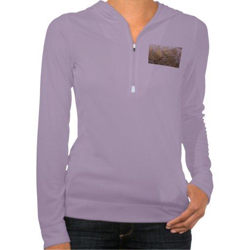 Cracked plastered wall. hooded sweatshirts