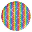 Cracked Rainbow Plate