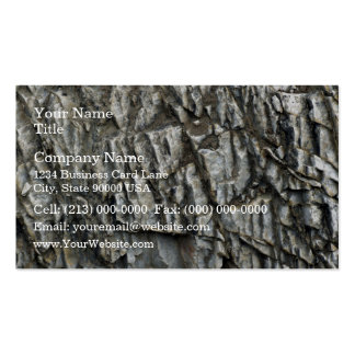 Cracked Rock Texture Business Card Templates