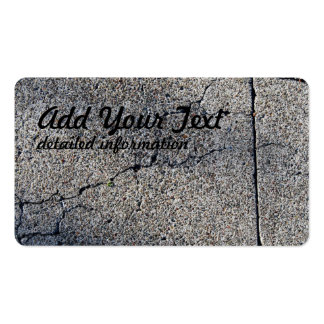 Cracked Sidewalk Pack Of Standard Business Cards