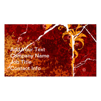 Cracked Texture Business Card Template