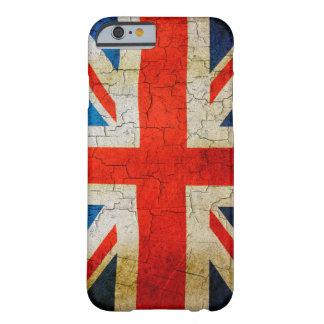 Cracked United Kingdom flag iphone 6 case