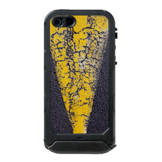 Cracked yellow paint on a road incipio ATLAS ID™ iPhone 5 case