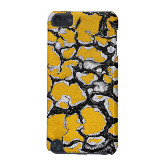 Cracked Yellow Road Paint iPod Touch 5G Covers