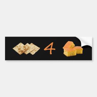 Crackers 4 Cornbread Pictogram Bumper Sticker